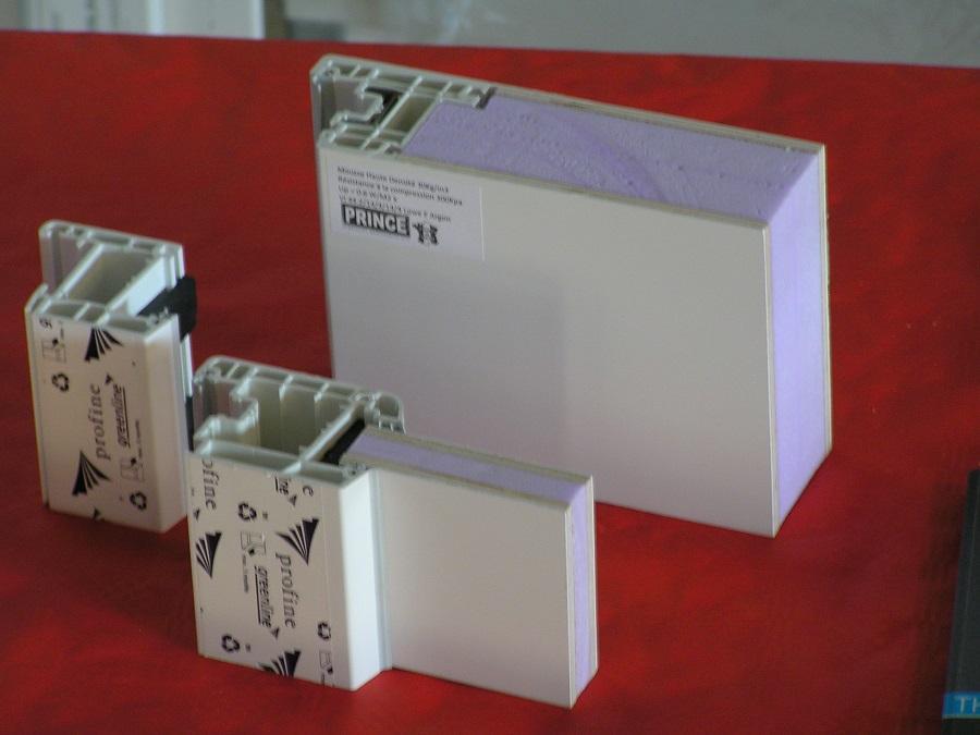 Mono blocThermixel 70mm VS panneau std 28mm