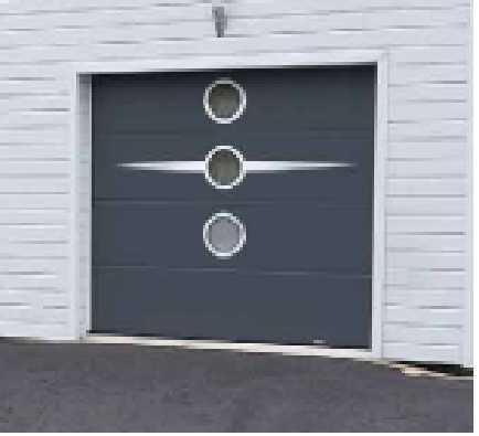 Porte de garage tendance for Porte de garage eveno