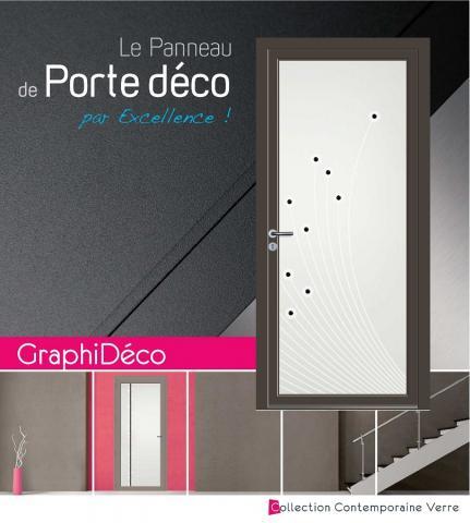 Vitrages de portes Graphi-Déco-Verre