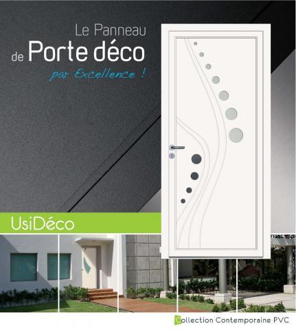 Panneaux de portes Usi-Déco PVC