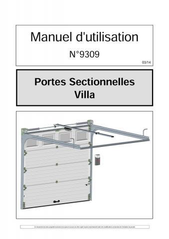 Utilisation Portes Sectionnelles Plafond 9309