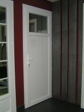 Porte fenêtre serrure fermée